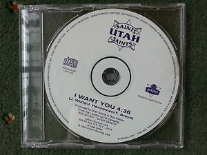 Utah-Saints-I-Want-You-4-36-CD-Single-RARE-PROMO-COPY-Mint-Unplayed