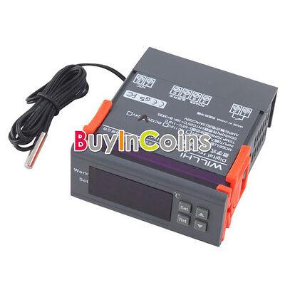 12V Digital LCD Thermostat Temperature Regulator Controller Aquarium Fish BAAU