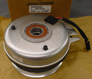 JOHN-DEERE-Genuine-OEM-PTO-Clutch-AM126100-GT-225-245-GX-255-LX-277-279-280-288