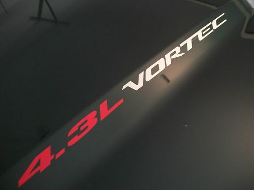 4.3L VORTEC HOOD stickers decals Silverado Chevrolet GMC S10 Blazer S15 4x4