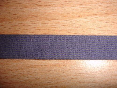 Gummiband dunkel lila 10 Meter MN21 nur 28 Cent/m