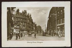 Scotland-Lanarkshire-GLASGOW-Charing-Cross-1930-RP-PPC-Macnab-Dyers