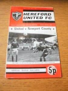 07041973 Hereford United v Newport County 1st League Season Creased No ob - Birmingham, United Kingdom - Returns accepted within 30 days after the item is delivered, if goods not as described. Buyer assumes responibilty for return proof of postage and costs. Most purchases from business sellers are protected by the Consumer Contr - Birmingham, United Kingdom