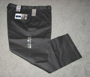 Dockers-Mens-Broker-Chino-Gray-or-Khaki-Flat-Pants-SIZES-NWT