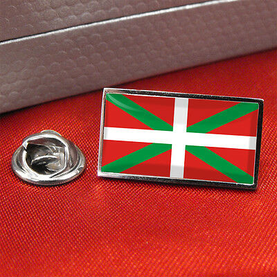 Basque Country Flag Lapel Pin Badge/Tie Pin