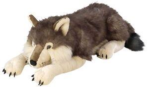 "GIANT JUMBO STUFFED WOLF - Wild Republic - 30"" - BRAND NEW - #82332"
