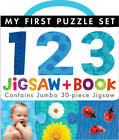 My First Puzzle Set: 123 Jigsaw and Book by Little Tiger Press (Novelty book, 2013)
