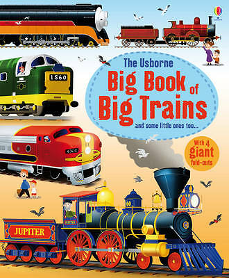 Big Book of Big Trains, Megan Cullis, Used; Good Book