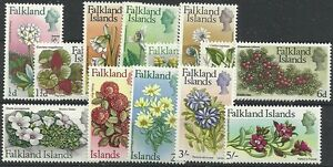 FALKLAND ISLANDS SG232/44 1968 FLOWERS TO 5/= MNH