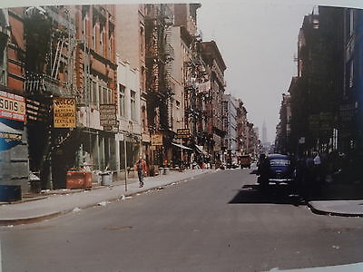 1953 Eldridge N from Hester Lower East Side Jewish NYC New York City Photo