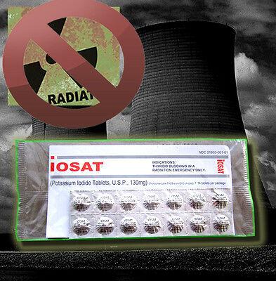 IOSAT Potassium Iodide Radiation Emergency Pills