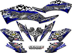 raptor 350 raptor350 yamaha graphics kit deco stickers atv fly racing