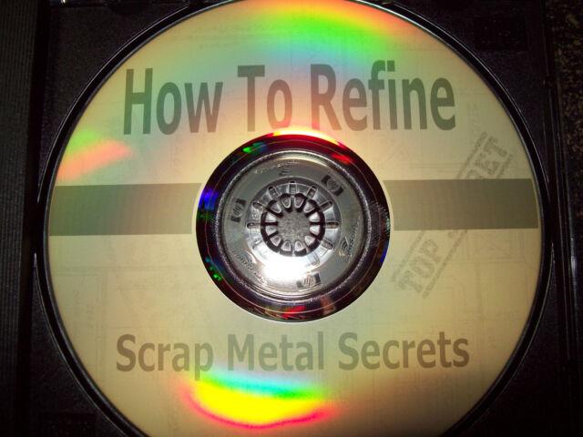 Refine scrap Gold Silver and Platinum  cd +1 FREE gram .999 SILVER  bullion