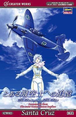 "Hasegawa CW02 Santa Cruz ""The Princess & Pilot"" 1/72 scale kit (4967834645028)"