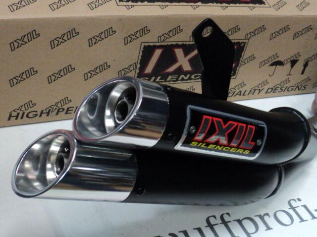 "AUSPUFF IXIL HYPERLOW XL ""BLACK"" KAWASAKI Z 750 / S BJ.`07-`12"