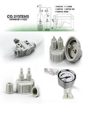 Complete DIY CO2 system Kit planted marine aquarium check valve US d201