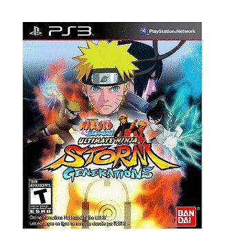 Naruto Shippuden: Ultimate Ninja Storm Generations - Sony Playstation 3 Game!