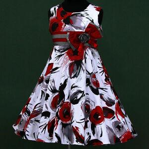 w025-w3788-UkG-r-Xmas-White-Red-Halloween-Grey-Party-Flower-Girls-Dress-3-13y
