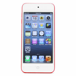 Apple iPod touch 5th Generation Red (32 GB) Excellent ... |Ipod 5th Generation Red