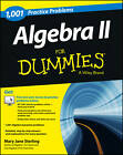 1001 Algebra II Practice Problems For Dummies by Mary Jane Sterling (Paperback, 2013)