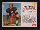 1962 Post Paul Hornung #6 Football Card