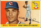 1955 Topps Bill Renna Kansas City Athletics #121 Baseball Card