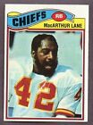 1977 Topps Macarthur Lane #273 Football Card