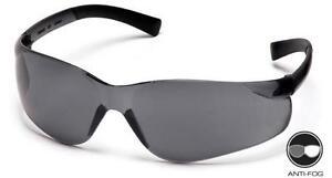 SAFETY-GLASSES-PYRAMEX-ZTEK-GRAY-LENS-6-PR-ANSI-UV-PROTECTION-S2520S