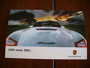 2001-PORSCHE-BOXSTER-FACTORY-POSTCARD-EXCELLENT-CONDITION
