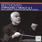 "Beethoven: Symphonies 3 ""Eroica"" & 4 (CD, May-2005, Arte Nova)"
