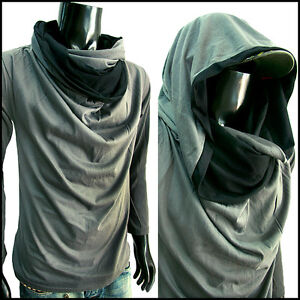 Cowl Neck Shirt For Men