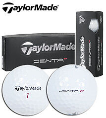 TAYLORMADE-PENTA-TP-1-DOZEN-GOLF-BALLS-NEW-IN-BOX