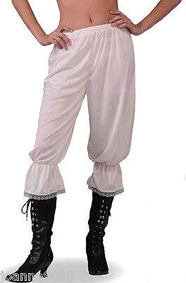 LADIES STEAMPUNK VICTORIAN PANTALOONS BLOOMERS FANCY DRESS COSTUME UNDERGARMENT