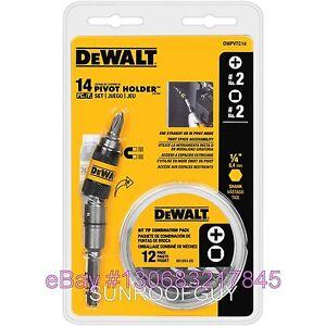DeWALT-14-pc-Magnetic-Pivot-Holder-Screwdriver-Drive-Set-DWPVTC14-NEW