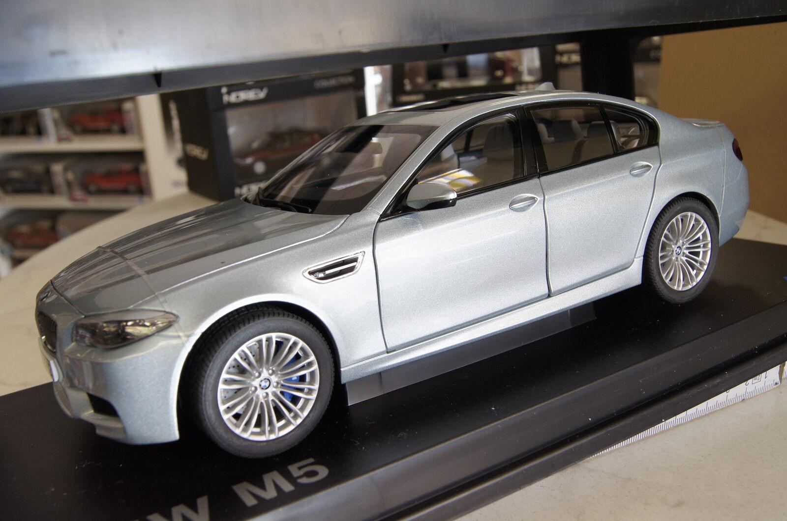 BMW m5 f10 argentoO METALLIZZATO 2011 Paragon Paragon Paragon BMW 1 18 NUOVO & OVP 48d4af