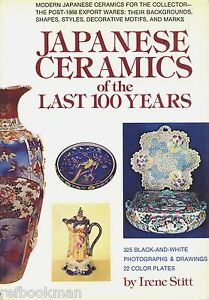 Antique-Japanese-Pottery-Porcelain-Periods-Makers-Dates-Marks-Scarce-Book