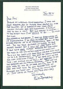 Bill-Sprackling-signed-letterCFHOF-Brown-University