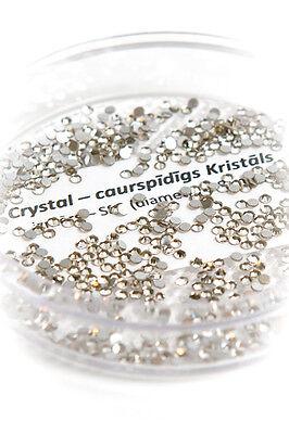 Swarovski round flatback stones, size 2.0 mm - add sparkle to Your cell phones!
