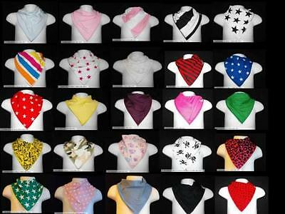 10 x Baby Bandana Bibs / Dribble Catchers & 1 Free!!