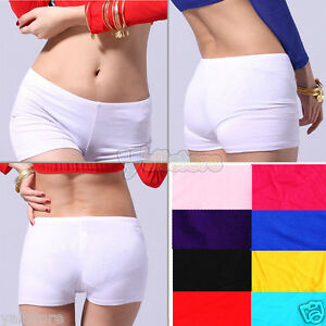 Womens-Girls-Belly-Dance-Yoga-Shorts-Pants-Cotton-9-Colors-High-Quality-US
