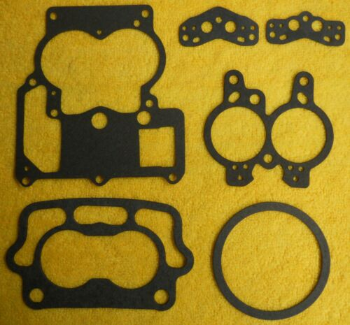 ROCHESTER 2G NEW COMPLETE GASKET SET FOR TRI POWER OR ANY SMALL BASE 2G 2GC