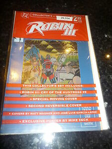 ROBIN-3-Cry-of-the-Huntress-No-5-of-6-Date-02-1993-Collector-039-s-Pack-Sealed