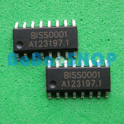 10pcs New BISS0001 InfraRed Human Body Alert Processor SOP-16
