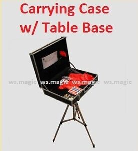 BLACK-Pro-Carrying-Case-W-Triangle-Table-Base-Close-Up-Stage-Magic-Asscessories