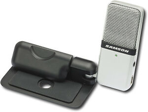 Samson-Go-Mic-Portable-USB-Condenser-Microphone-Bundle-w-Case-amp-Software