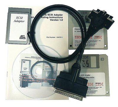 IBM 40G1890 PC Card (PCMCIA) SCSI Controller New & Unused. XP/2000/98/95/Dos/OS2