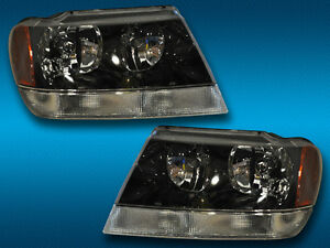 1999-2004-JEEP-GRAND-CHEROKEE-HEADLIGHTS-HEADLAMPS-PAIR-SET-NEW
