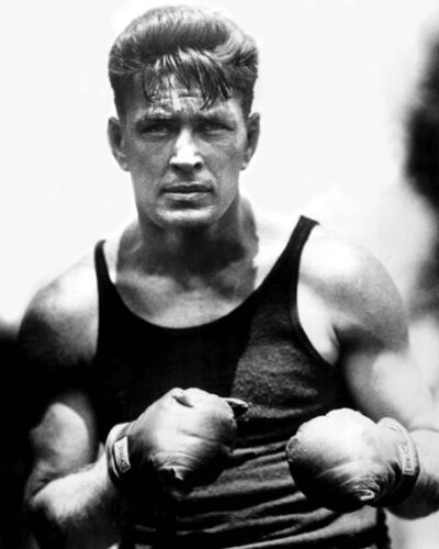 1920s American Boxer GENE TUNNEY Glossy 8x10 Photo Boxing Heavyweight Print