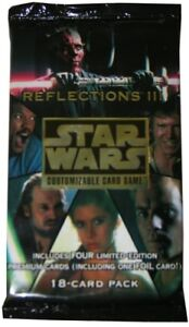 Star-Wars-CCG-Reflections-3-III-Booster-Pack-BRAND-NEW-FACTORY-SEALED