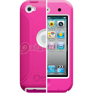 OtterBox-Generation-Defender-Case-for-Apple-iPod-Touch-4-4th-Gen-Hot-Pink-White